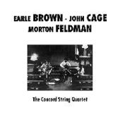CONCORD STRING QUARTET-Plays Brown, Cage & Feldman