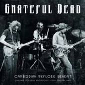 GRATEFUL DEAD-Cambodian Refugee Benefit 1979