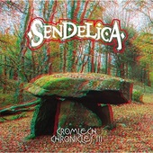 SENDELICA-Cromlech Chronicles III (blue/whiteblack)